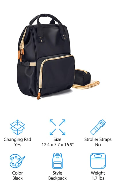 LNGLAT Diaper Bag
