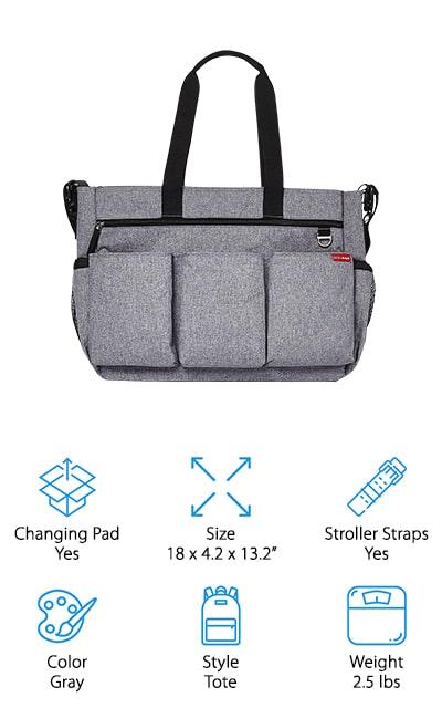 Skip Hop Diaper Bag Tote