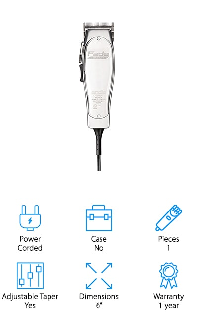Andis Professional Fade Master Hair Clipper