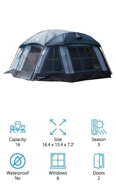 Tahoe Gear Ozark Cabin Tent