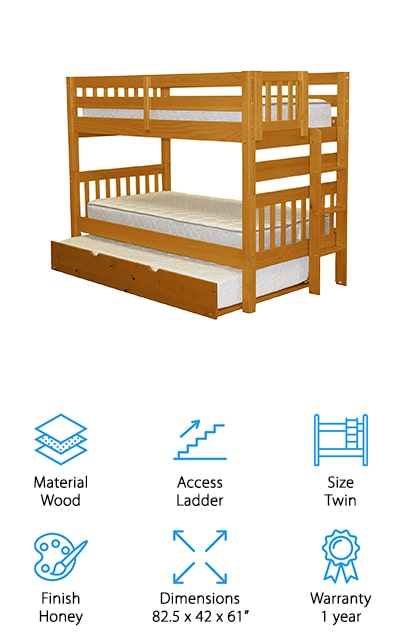Bedz King Mission Bunk Beds