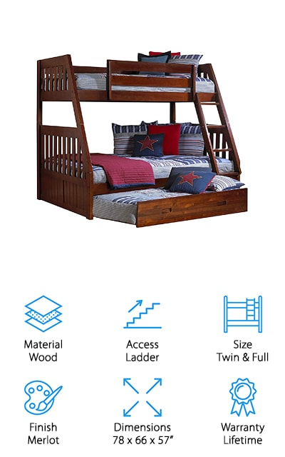 Discovery World Furniture Bunk Bed