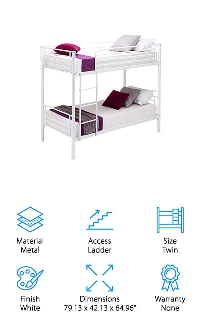 Mecor Metal Bunk Bed