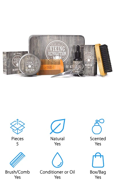 Viking Revolution Beard Kit