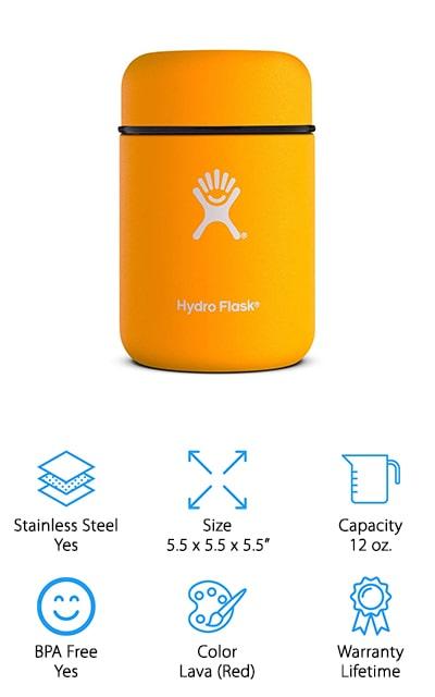 Hydro Flask Thermos Jar