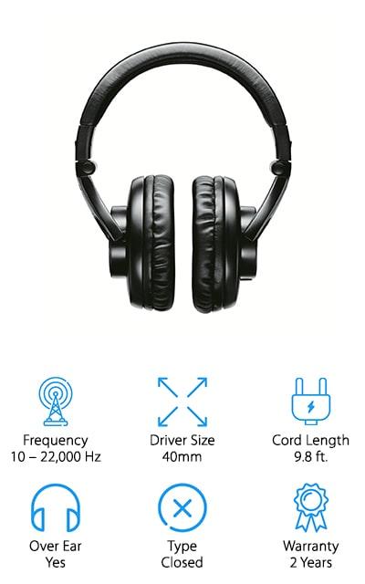Shure Professional Studio Headphones