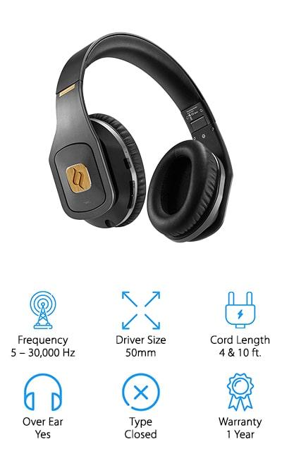 Noontec Hammo Wireless Headphones