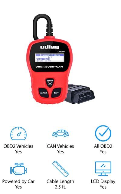 Udiag OBD2 Scanner