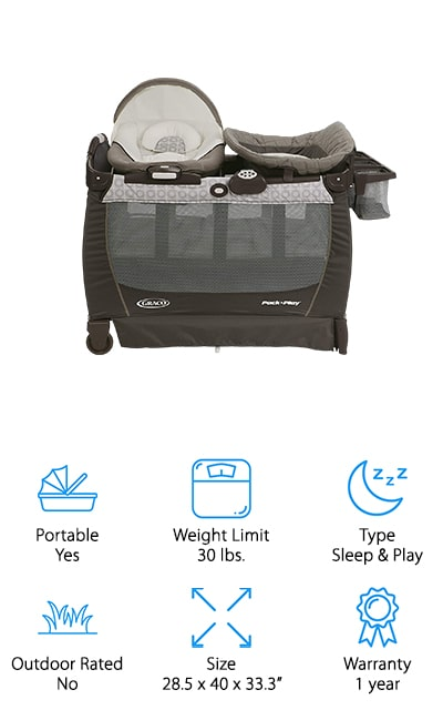 Graco Pack 'n Play Snuggle Suite
