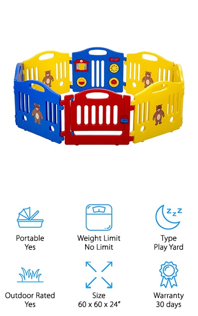 Best Massage Baby Play Yard