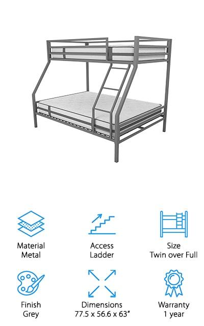 Novogratz Maxwell Bunk Bed