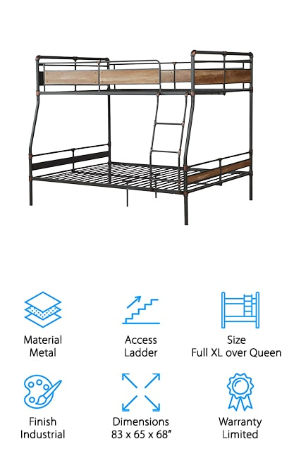 Major-Q Queen Bunk Bed