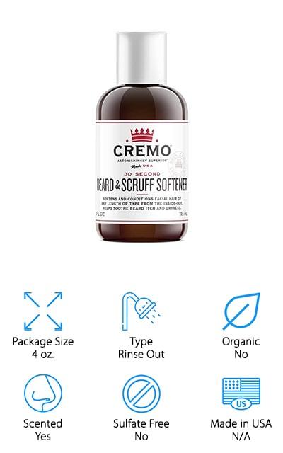 Cremo Beard & Scuff Softener