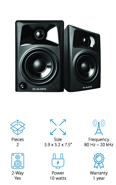 M-Audio Compact Studio Monitor