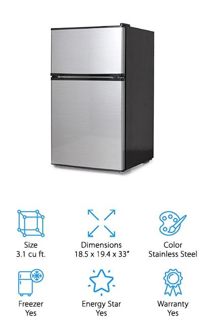 Midea WHD-113FSS1  Refrigerator