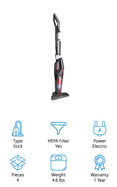 Dibea Pet Hair Vacuum