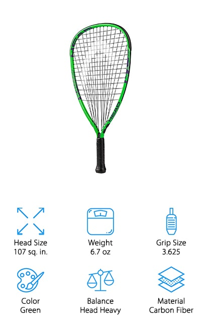 HEAD MX Hurricane Racquet