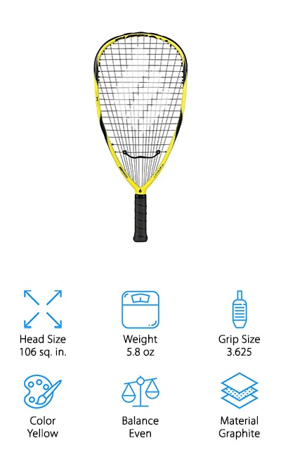 Ektelon Tour 165 Racquet