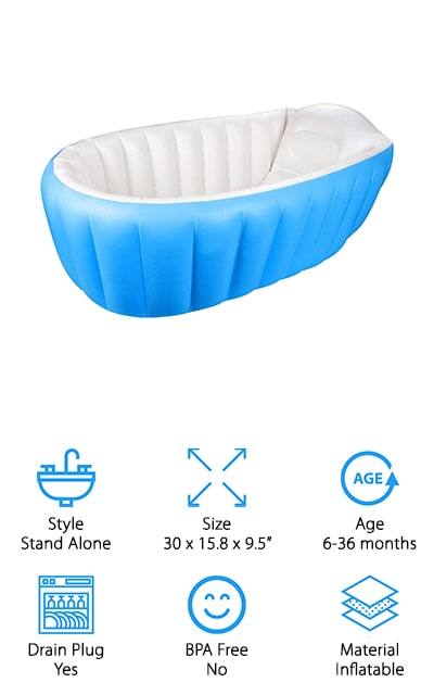 Intime Baby Bathtub