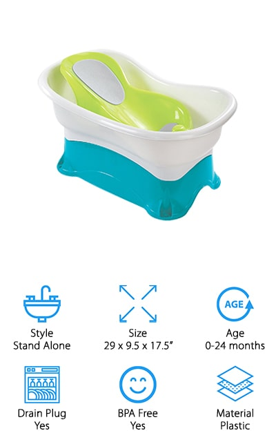 Summer Infant Comfort Bath Tub