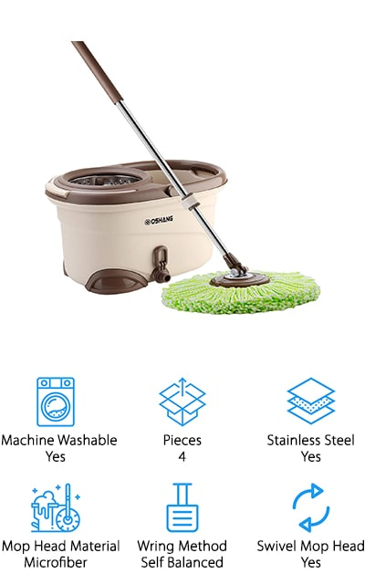 Oshang EasyWring Spin Mop