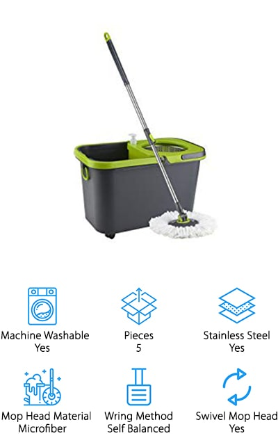 Cleaning Solutions Spin Mop