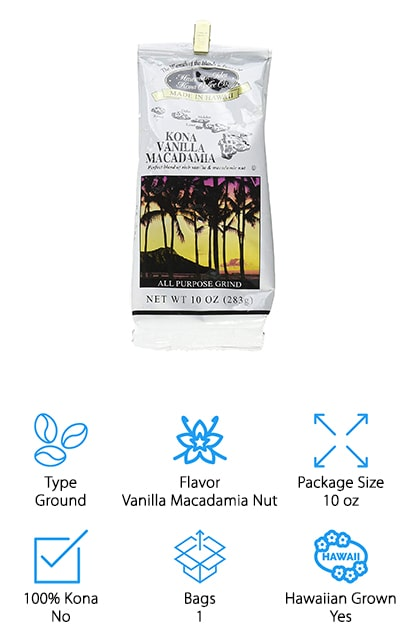 Hawaiian Isles Kona Vanilla Coffee
