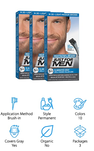 Just for Men Color Gel