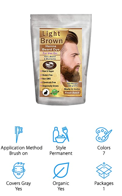 The Henna Guys Beard Dye