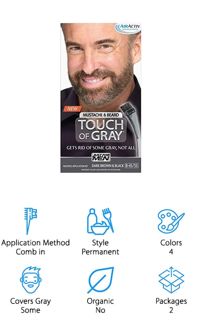 Touch of Grey Beard Dye
