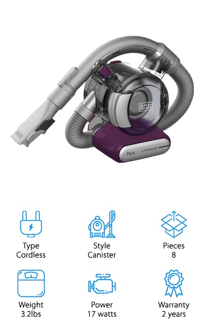 BLACK+DECKER Flex 2 Vacuum