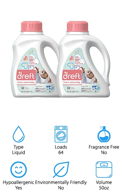 Dreft Stage 2 Detergent