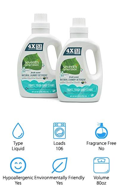 Seventh Generation Natural Detergent
