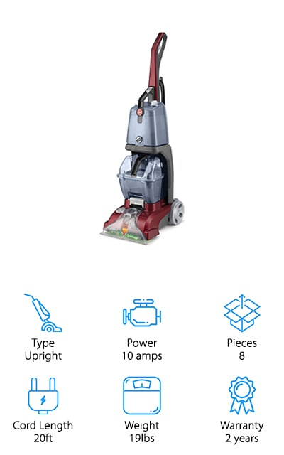 Hoover Power Scrub Carpet Washer