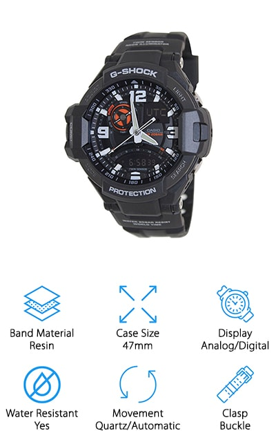 Casio G-Shock Aviation Watch