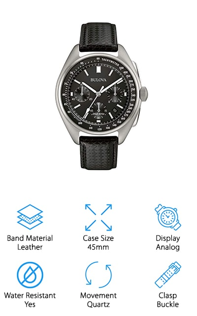 Bulova Pilot Chronograph Watch