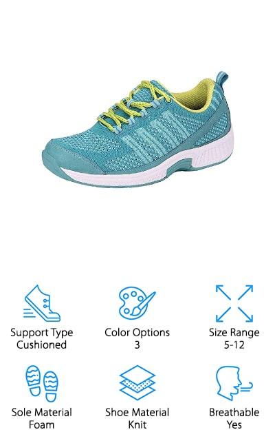 Orthofeet Athletic Sneaker