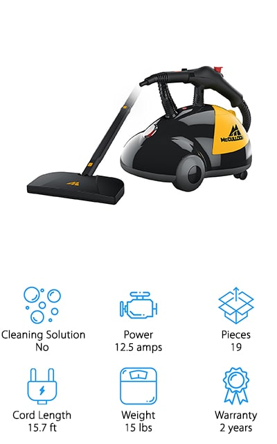 McCulloch MC1275 Steam Cleaner