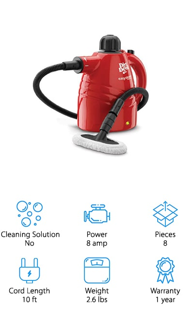 Dirt Devil Steam Cleaner