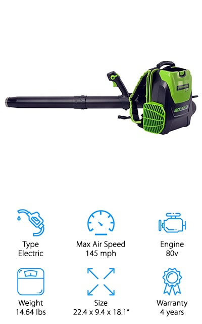 Greenworks PRO Backpack Blower
