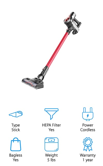 Dibea C17 Stick Vacuum Cleaner