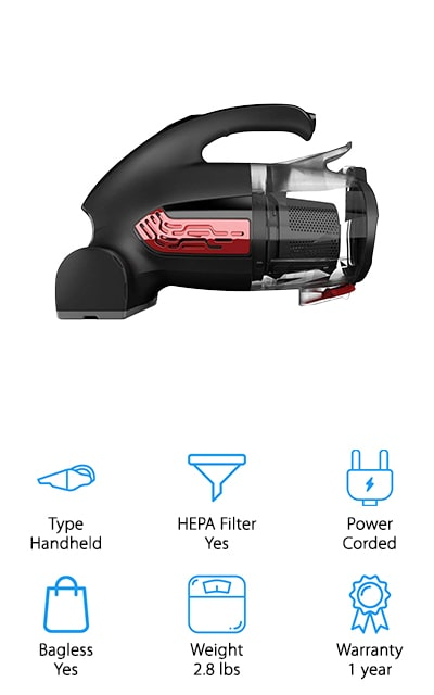 Dirt Devil Hand Vacuum Cleaner