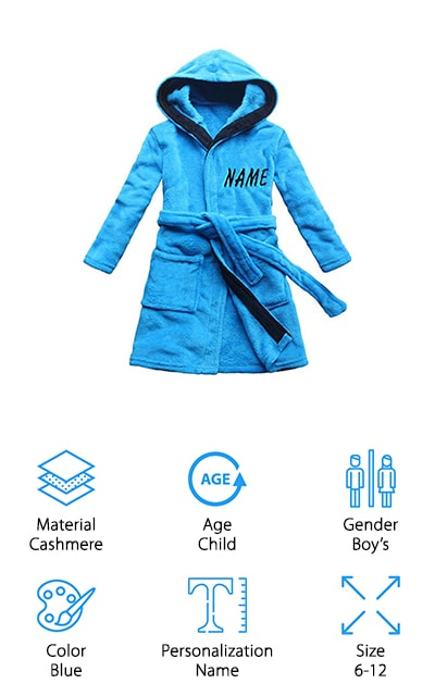FEETOO Children's Bath Robe
