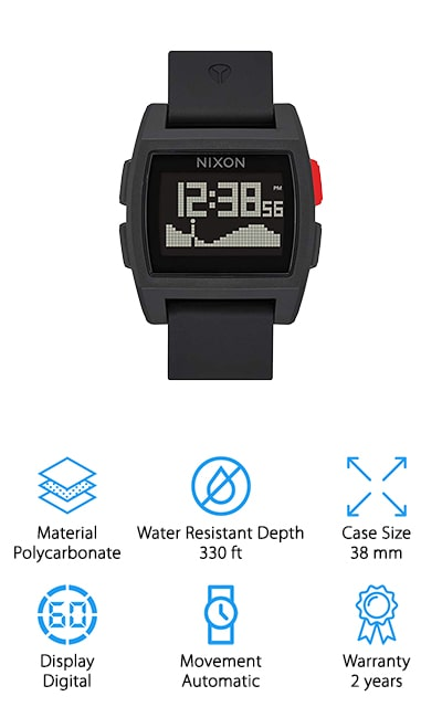 Nixon Base Tide Digital Watch