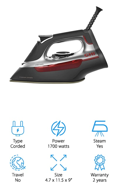CHI 13101 Steam Iron