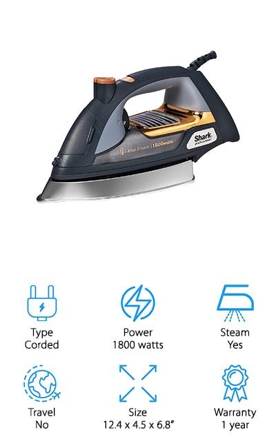 Shark Professional Steam Iron