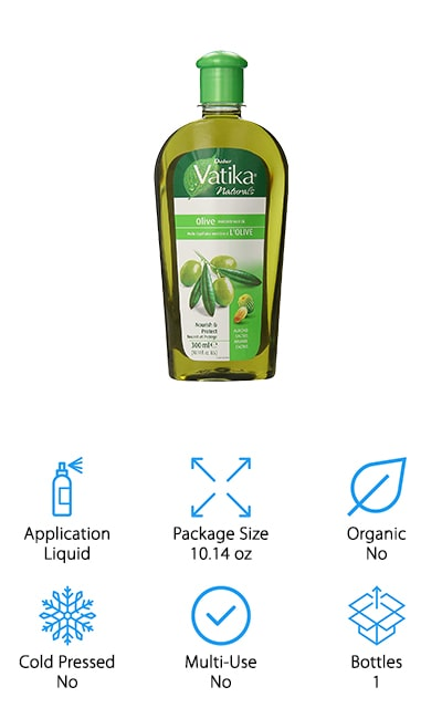 Dabur Vatika Olive Hair Oil
