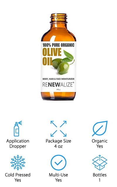 Renewalize Organic Olive Oil