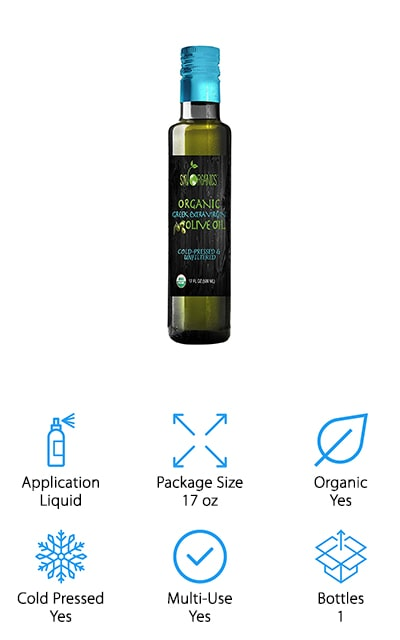 Sky Organics Extra Virgin Olive Oil