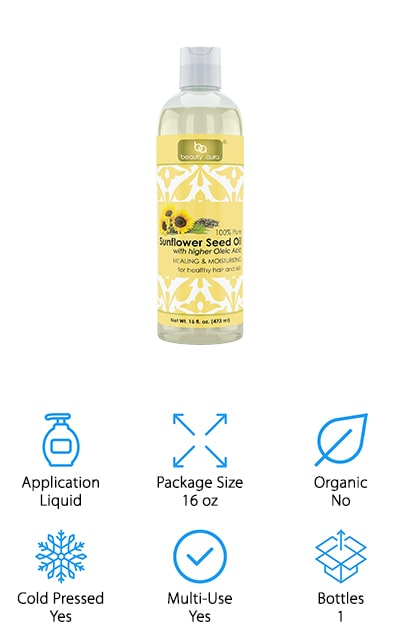 Beauty Aura Sunflower Oil